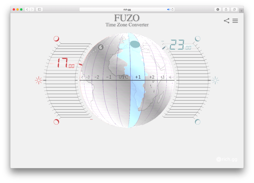 FUZO Time Zone Converter. Rich Porcher