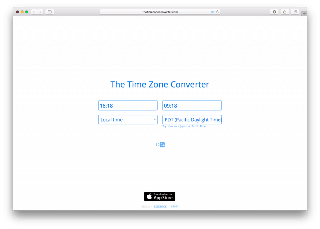 The Time Zone Converter. Jonathan Berger