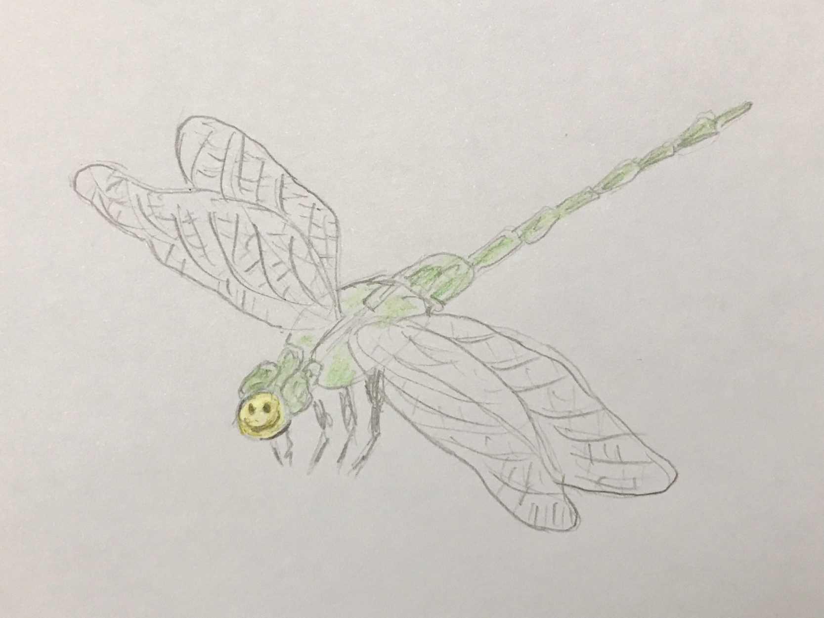 Emoji Dragonfly