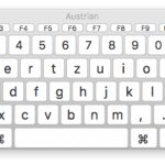 On-Screen Keyboard on a Mac - Keyboard Viewer. Apple
