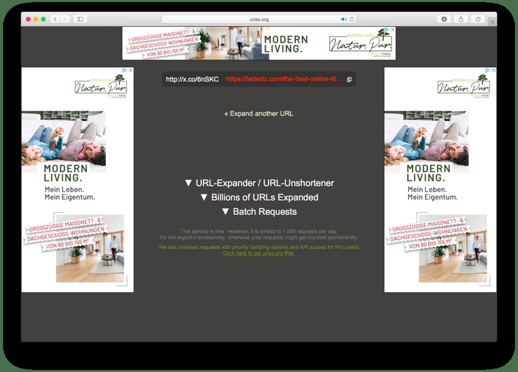 URL-Expander