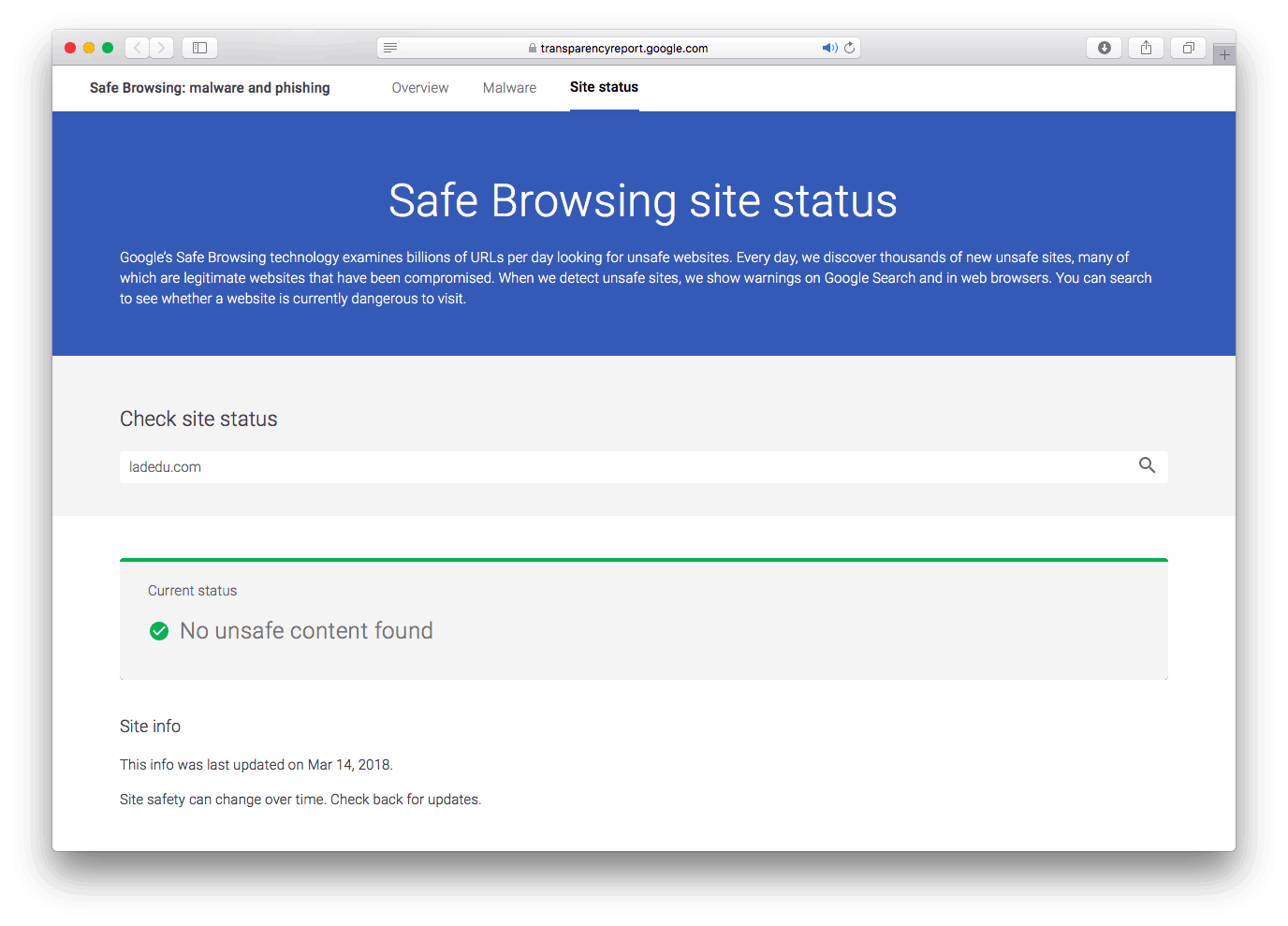 Safe Site Checker >> The 7 Best Pages To Check Url Reputation And Safety Online 2019 La