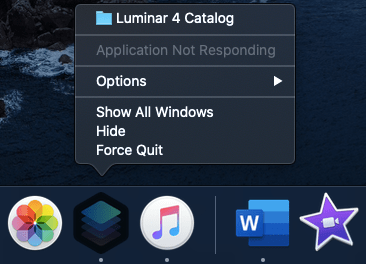 Force Quit an Application in macOS